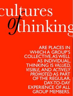 Cultures of Thinking REsources