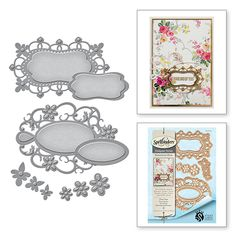 Inspired by nature, Stacey Caron's gorgeous new Botanical designs are a beautiful fun floral twist to her classic style. These designs will be an instant classic and favorite with crafters and maker a
