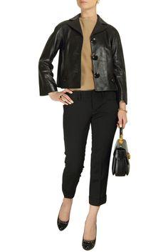#Dior Black Leather Jacket - #starbags_eu