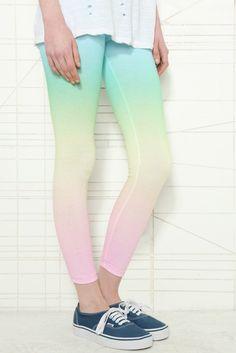 §Best of Gradients... ombre gradient rainbow leggings