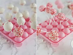 Słodki Stół: Cake pops czyli ciastka na patyku - przepis :) Cake Pops, Food And Drink, Birthday Cake, Blog, Sweets, Cupcakes, Cookies, Desserts, Pastries