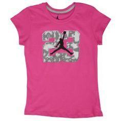 Jordan Flight 45 High - Girls' Grade School - Dynamic Pink/White ...