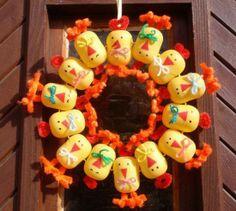 kinder-tojás-koszorú
