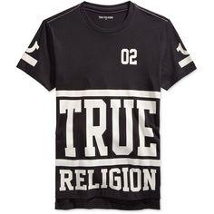 22c39fa3d10 True Religion Men s Starter Graphic-Print Logo T-Shirt ( 79) ❤ liked