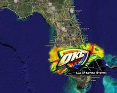 Severe #Thunder Storm Warning Tonight. #OKC #ThunderUP #Oklahomacity #OKCThunder #BeatTheHeat