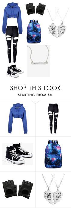 """""""Cocoa's Outfit"""" by lizzie12304 on Polyvore featuring Off-White, WithChic, Madewell and Hot Topic"""