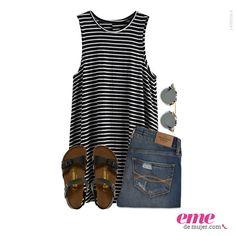 Afronta esos días de calor con este #OutfitEme. Para saber más de moda y ser toda una fashionista entra en nuestra página web http://ve.emedemujer.com/moda/