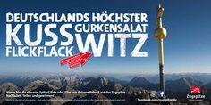 """Die Bayerische Zugspitzbahn sucht die """"höchsten"""" Rekordjäger Deutschlands"""