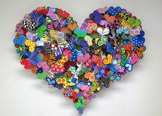 hearts Sculptures by David Krekova