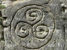 The Triskele - History Behind This Ancient Celtic Symbol + Appearances Irish Symbols, Celtic Symbols, Celtic Art, Irish Celtic, Celtic Meaning, Celtic Spiral, Celtic Music, Celtic Dragon, Celtic Knots