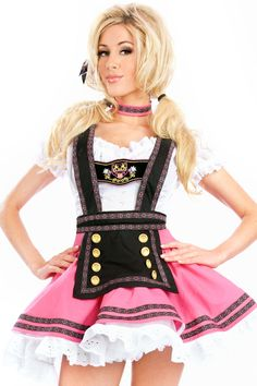 Halloween German Beer Girl Costume Fraulein Dirndl Fancy Dress Oktoberfest Beer Festival October Dress maid Costume M L XL Cheap Fancy Dress, Ladies Fancy Dress, Maid Halloween, Halloween Fancy Dress, Adult Halloween, Halloween Makeup, Halloween Ideas, Halloween Party, Halloween Costumes