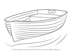 Learn How to Draw Boat at Dock (Boats and Ships) Step by Step : Drawing Tutorial… – Zeichnung , Kritzeleien und mehr Drawing Boat, Sailboat Drawing, Make A Boat, Build Your Own Boat, Diy Boat, Boat Painting, Painting & Drawing, Easy Drawings, Pencil Drawings