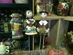 Thanksgiving yard stakes. Snapdragon's Floral & Gifts- 207 e main, Dayton, Wa.  509-382-2565