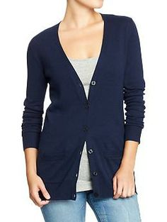 Womens Boyfriend Cardis; just got this, you can never have too many cardigans!