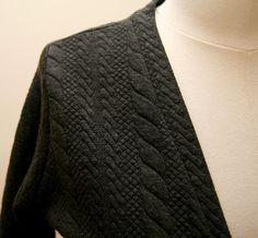 K-Line: Finished Object: Jenna Cardigan - V Neck Muse, Men Sweater, It Is Finished, V Neck, Patterns, Sewing, Sweaters, Inspiration, Fashion