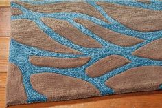 Home Accents Contour Ocean x Area Rug by Ashley HomeStore, Gray Beach Room, Patio Rugs, Entryway Rug, Applique Patterns, Indoor Rugs, Home Accents, Fabric Material, Hand Carved, Area Rugs