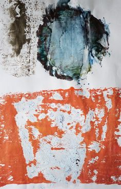 Ian MacLeod  ::  'Untitled' -  Acrylic, oil and varathane on paper.
