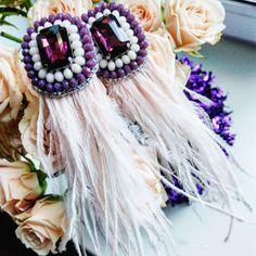 Серьги в наличии! До нового года цена всего 450 грн! #mad_hatter_accessories #embroidery #handembroidery #brooch #handwork #вышивка #ручнаявышивка #ручнаяработа #ручнаяработа #днепропетровск #брошьизбисера #брошьручнойработы #вышивкабисером #мастер #бисер #handmade_prostor #львов #handmadejewelry #brooch #beads #crystal #embroidery #swarovskicrystals #swarovski #купитьброшь #украшенияручнойработы #handmade #handemroidery #одесса