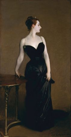 """When John Singer Sargent exhibited his Portrait of Madame X at the Paris Salon of 1884,  critics decried the """"indecency"""" of the famous beauty's costume, The provocative dress was further set off by Gautreau's """"cadaverous"""" pallor and haughty pose. The scandal left Sargent humiliated; he did, however, keep the canvas.he eventually sold Madame X to the Met in 1916 — calling the portrait """"the best thing [he'd] ever done."""""""