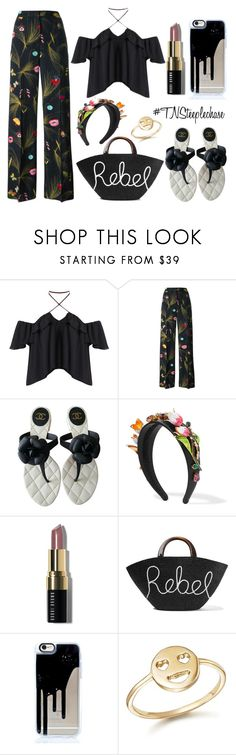 """#WhatToWear: #TNsteeplechase • Rebel Bella"" by fabglance on Polyvore featuring Fendi, Chanel, Dolce&Gabbana, Bobbi Brown Cosmetics, Eugenia Kim, Bing Bang and DerbyDay"
