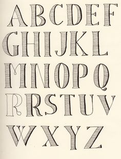 Old-timey but timeless, cute and impactful lettering Lettering Styles Alphabet, Cool Lettering, Handwriting Fonts, Penmanship, Word Doodles, Silhouette Fonts, Calligraphy Letters, School Projects, Easy Drawings