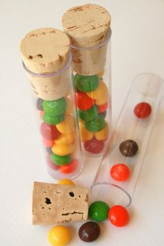 Clear Tubes and Corks for Packaging or Storage or by InTheClear, $65.00