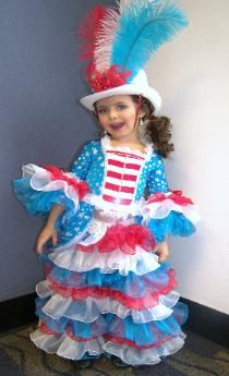 4th of july pageant wear for toddlers
