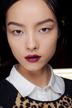 Petal-Stained Lips - Autumn/Winter 2013 Beauty Trend (Vogue.com UK)