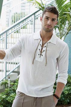 P.O.V.® Cabana Mens Tunic Shirt | UnderGear