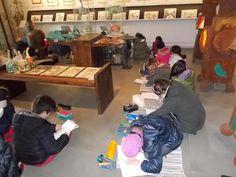"""Scuola primaria """"Tre Ponti"""":  Uscita al Museo """"Nel mondo di Tonino Guerra""""  (Santarcangelo); a passeggio tra colori, poesia, emozioni."""
