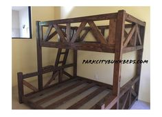 Best place for custom bunk beds strong enough for adults and vacation homes.