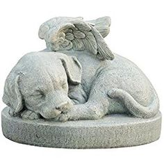 Napco Bless My Pet Statue Dog Memorial