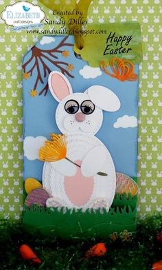 Hi friends, it's Sandy Diller here today.  Have you ever had an idea that you just couldn't let go of until you've made it?  Well, that's my project today.  I issued a challenge to myself to make an Easter Bunny from Elizabeth Craft Designs dies in my collection that does not include a bunny.  I've used lots... Continue reading →