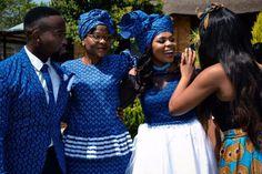 Latest shweshwe wedding dresses south africa 2018   Pretty 4