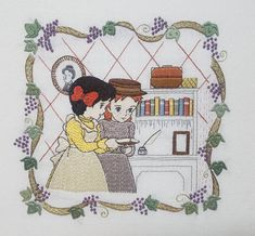 Hand Embroidery Videos, Embroidery Hoop Art, Embroidery Stitches, Embroidery Patterns, Harry Potter Bookmark, Old Anime, Aesthetic Pastel Wallpaper, Anne Of Green Gables, Diy Art
