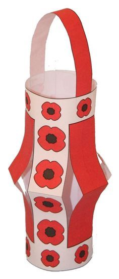 Ideas for Remembrance Day Lantern Craft - 2015 given we have this year sorted Remembrance Day Activities, Veterans Day Activities, Remembrance Day Poppy, Autumn Activities, Summer Activities, Book Activities, Memorial Day Poppies, Poppy Craft For Kids, Peace Crafts