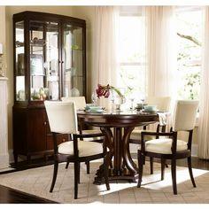 Westwood Round Dining Group | Bernhardt | Star Furniture | Houston, TX Furniture | San Antonio, TX Furniture | Austin, TX Furniture | Bryan, TX Furniture | Mattresses and Accessories