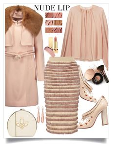"""""""Perfect"""" by hani-bgd ❤ liked on Polyvore featuring beauty, Tory Burch, Roksanda, Chloé, MAC Cosmetics, Johnny Loves Rosie, Burberry, Nude by Nature, Robert Lee Morris and Yves Saint Laurent"""