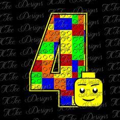 Lego 7 7th birthday lego birthday svg design download vector lego 4 4th birthday lego birthday svg design download vector cut file by stopboris Gallery