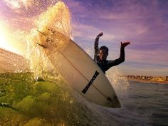 Another stellar sunset surf shot by GoPro superfan Robbie Crawford, starring shredder Jarrod Bell!