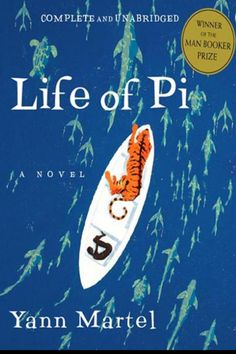 """Life of Pi. It's a bit serious and yucky, but a truly amazing novel.  """"Be daunted, but not defeated. Remember: the spirit, above all else, counts. If you have the will to live, you will."""""""