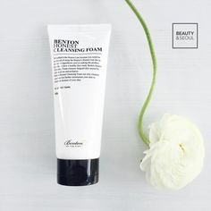 "BENTON Honest Cleansing Foam £9.00 | ""This has a higher than average pH so is better suited for those with normal and combination skin types like me! This is a perfect cleanser for those with sensitive skin as well and gets my second cleanse done effectively!""