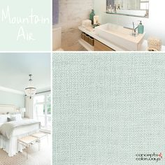 sherwin williams mountain air used in interior design, 2017 color trends, seafoam green, mint green, light green, pale green