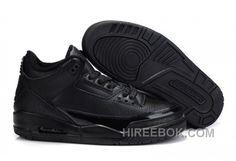3e4faffff820 Air Jordan 3 Retro Black Black Basketball Shoes for sale at Air Jordan 3  Retro online