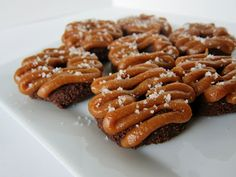 Raw Mini Chocolate Salted Caramel Doughnuts. The name is a mouthful, but so are these treats themselves!
