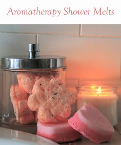 Relax and destress with these great-smelling shower melts!