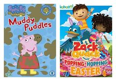 "#GIVEAWAY: Win DVD ""Peppa Pig: Muddy Puddles"" and DVD ""Zack & Quack: Popping Hopping Easter"" (Ends 3/16)"