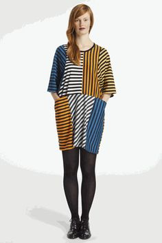 Marimekko Hermanni Tunic.    Collection: Tasaraita Fall 2012.    Print: Annika Rimala 1968.
