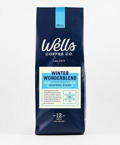 Winter Wonderblend Label by Steve Wolf