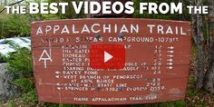 The Best Appalachian Trail Videos Thru Hiking, Hiking Tips, Continental Divide, Pacific Crest Trail, Get Outdoors, Appalachian Trail, Inspirational Videos, West Virginia, Travel Photos
